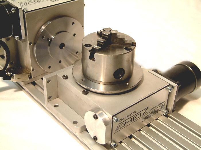 Cuarto Eje - Fresadoras CNC \