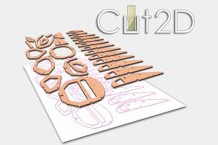 Software Cut2D CAD CAM Diseño Control Numérico