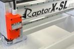 Vista detalle motor y adaptador de succión de la fresadora RaptorX SL